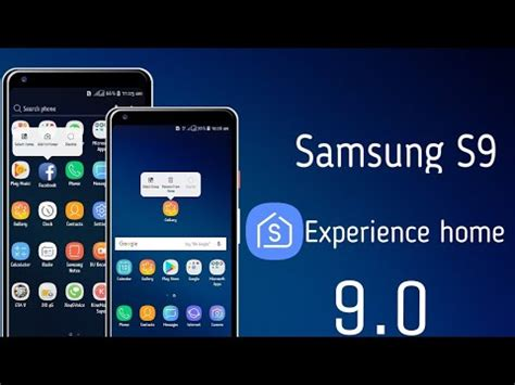 samsung s9 experience home 9 0 install any galaxy devices install no root