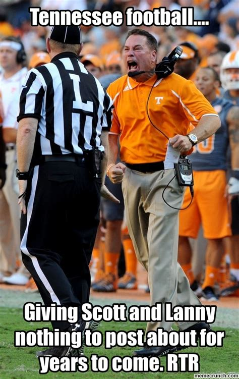 Tennessee Football Memes - tennessee football