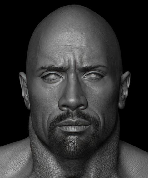 artstation dwayne the rock johnson done for wwe hossein