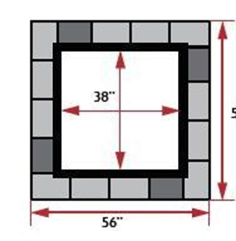 square pit dimensions sunset pits wilson nurseries