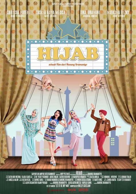 film baru hanung bramantyo intip poster dan trailer resmi film hijab hanung