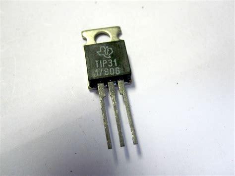 transistor tip 31 transistor npn tip 31 28 images transistor de potencia tip31c y tip32c npn y pnp arduino bs