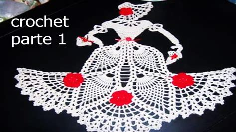 carpetas tejidas de gancho carpetas tejidas en crochet ganchillo parte 1 youtube