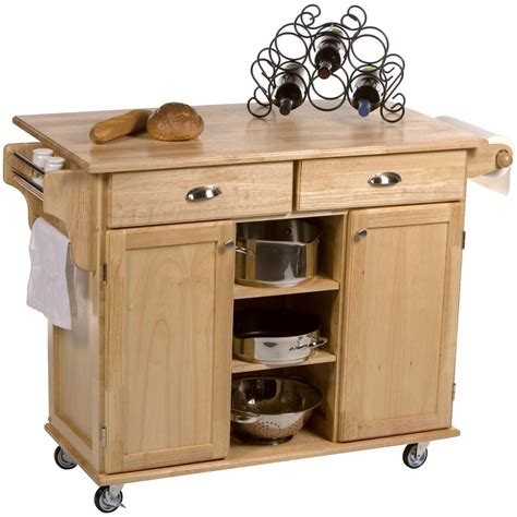 rolling kitchen island cart butcher block kitchen cart rolling kitchen island table