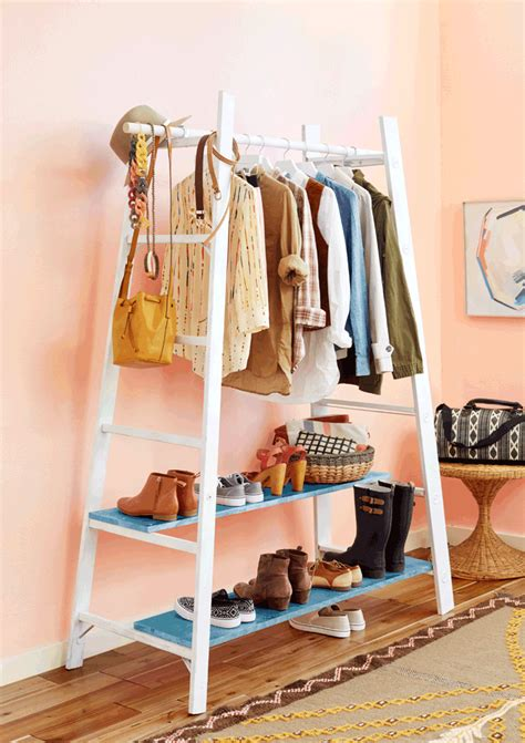 Diy Wardrobe Rack by Book Diy Garment Rack Emily Henderson