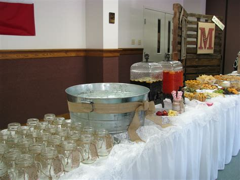 rustic wedding shower banquest parties showers etc