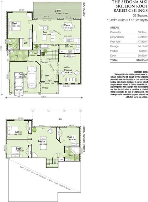 tri level house plans sedona mki tri level metro facade skillion roof home