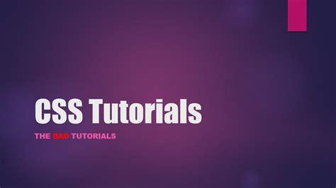 css tutorial list css tutorial 24 list properties part 1 youtube