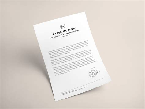 graphicburger flyer mockup a4 paper psd mockup graphicburger could stretch letter