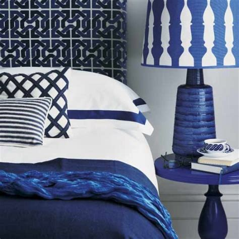 cobalt blue bedroom color focus featuring cobalt brewster home