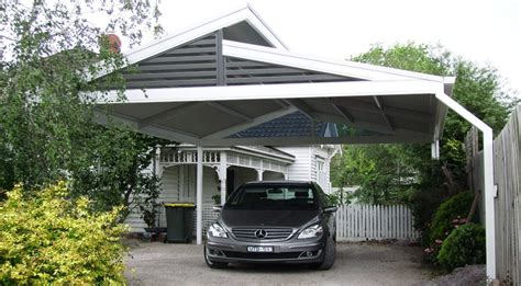 designer carport metall custom designed steel colorbond carports