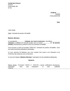 Modèles Lettre Tutelle Application Letter Sle September 2015