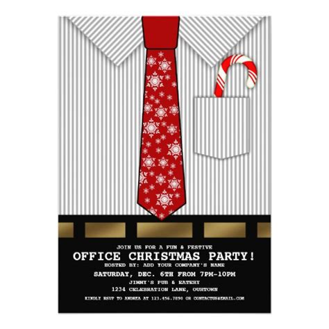 funny office christmas party invite