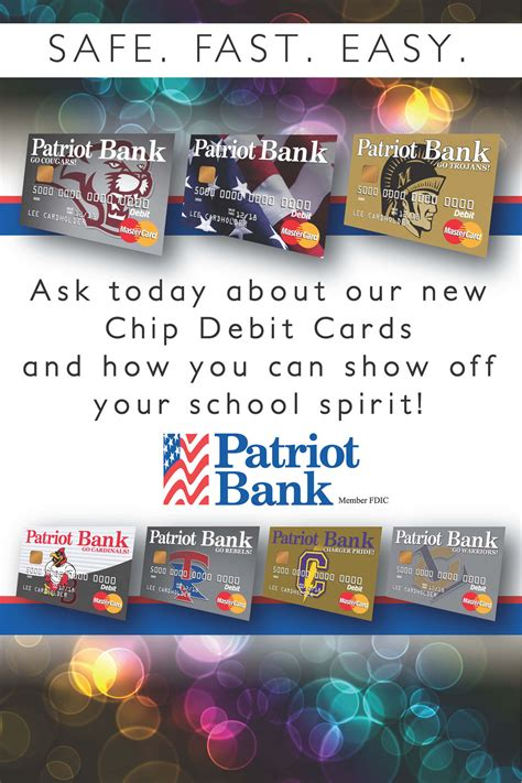 Show Your School Spirit With Chip Pepper by Patriot Bank