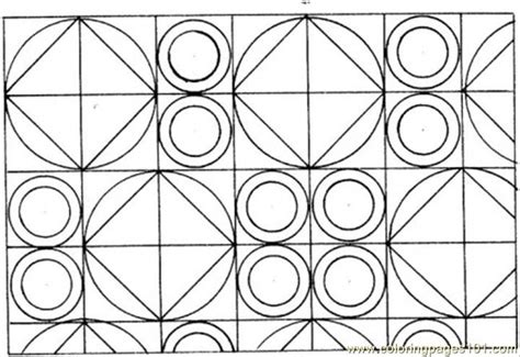 free coloring pages of circular patterns