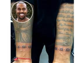 kanye tattoo kanye west gets new tattoos see the photo