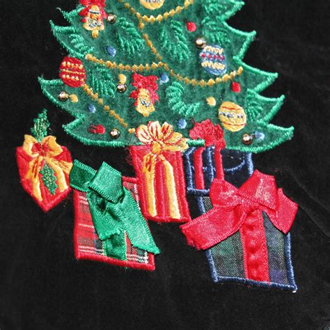 black velvet christmas tree ugly christmas vest the ugly