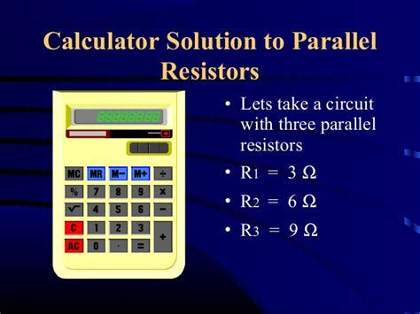 parallel resistance calculator app le calculations 1