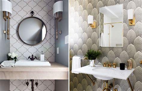 lavabo  papel de parede aposte nesta tendencia mm