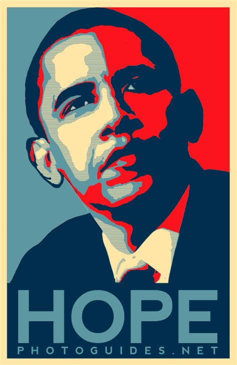 tutorial vector hope image gallery obama hope poster psd