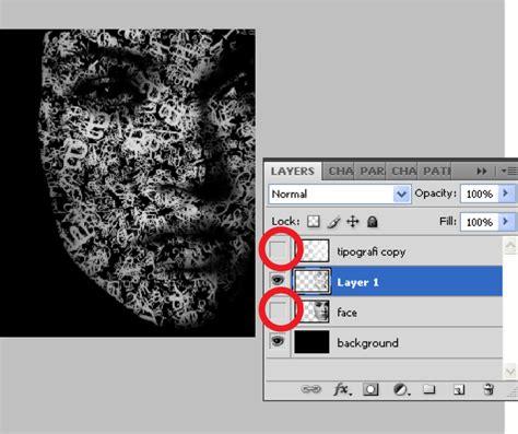 tutorial desain grafis tipografi tipografi wajah dengan photoshop desainstudio tutorial