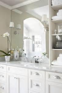 design ideas small white bathroom vanities: traditional bathroom design by atlanta interior designer niki