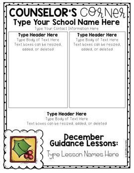 Best 25 School Newsletters Ideas On Pinterest Parent Newsletter Template Classroom Free Newsletter Templates For School Counselors