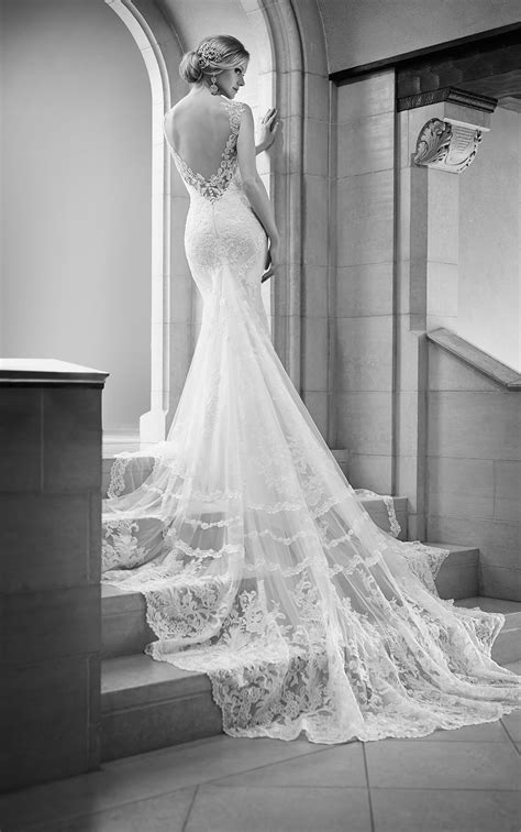 Illusion Back Wedding Dress | Martina Liana Wedding Dresses