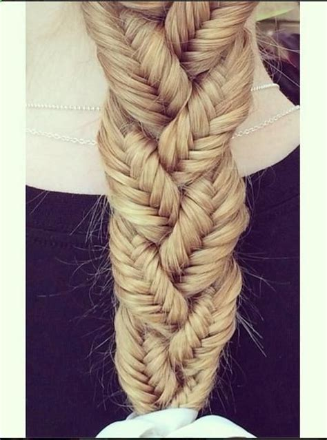 tutorial makeup natural ke kus awesome braid made from small fishtail braids hair