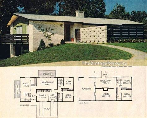 betterhomesandgardens house plans better homes gardens feature house november 1964 mid