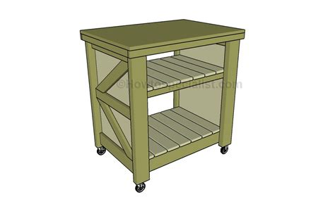How To Make A Small Kitchen Island How To Build A Small Kitchen Island Howtospecialist How To Build Step By Step Diy Plans