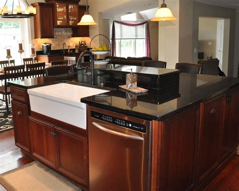 kitchen islands with granite granite kitchen islands photo gallery black galaxy