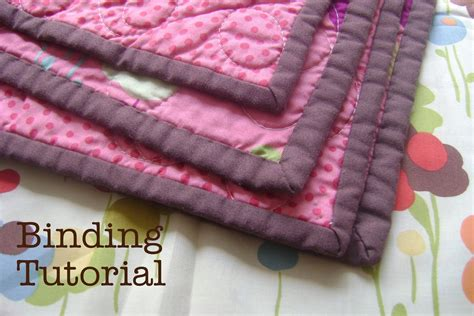 Bind Quilt by Diary Of A Quilter A Quilt Quilt Binding Tutorial