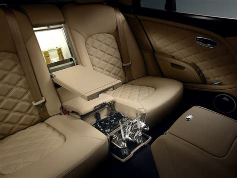bentley interior back seat bentley mulsanne the limousine supercar