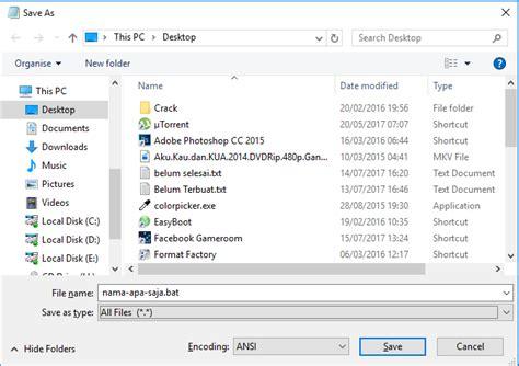 cara membuat virus gokil cara mudah dan cepat membuat file virus alym