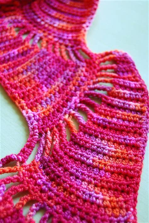 motif scarf pattern crochet scarf pattern knitting gallery