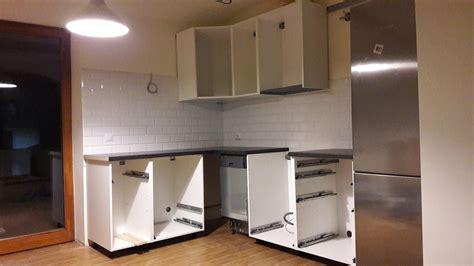 Plain Kitchen Cabinets by Davaus Net Cuisine Ikea Hittarp Avec Des Id 233 Es