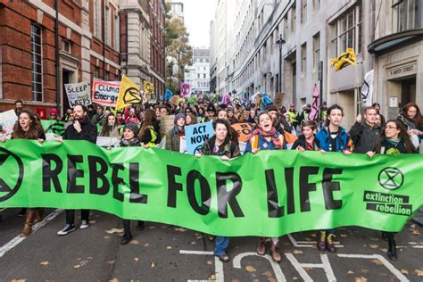 extinction rebellion movement starts weeklong