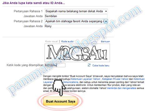 cara membuat e mail dari yahoo co id cara membuat email yahoo indonesia pammasena