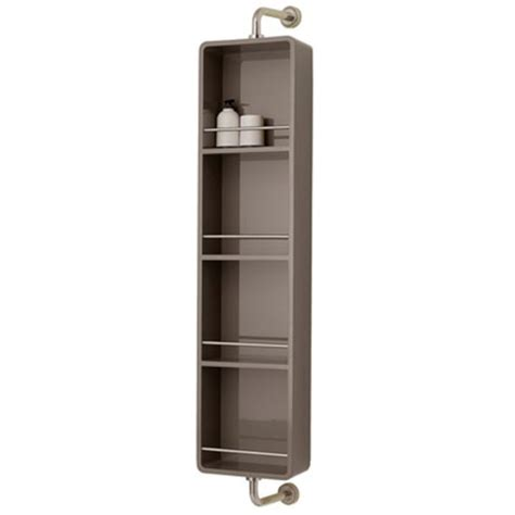 sicily rotating bathroom storage unit from dwell