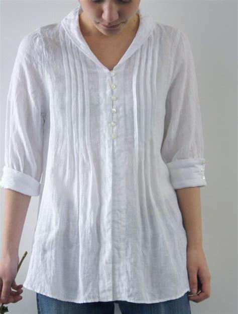 Import Bordir White Shirt Kemeja Putih Katun Lengan Panjang Hem Wanita 17 best images about wt linen classic belgium and inspiration