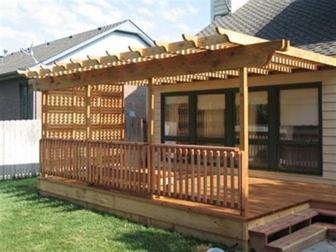 decks and patios patio decks here s a small wooden deck patio co