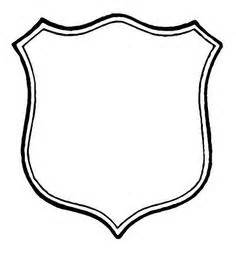 shield template to print shield template blank work ideas