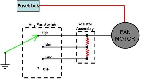 heater resistor diagram heater resistor 1965 mustang forums at stangnet