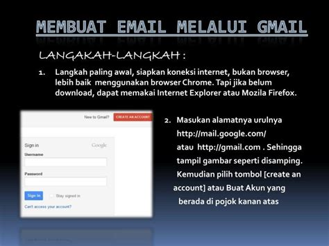 Download Power Point Cara Membuat Email | ppt cara membuat email melalui gmail powerpoint
