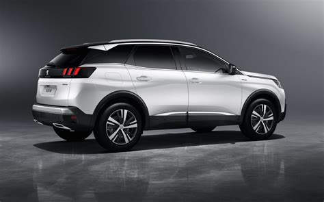 peugeot 3008 white 2017 2017 peugeot 3008 gt revealed first ever gt suv