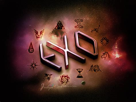 exo wallpaper symbol exo 3d by jerlyn92 on deviantart exo fanarts imagenes