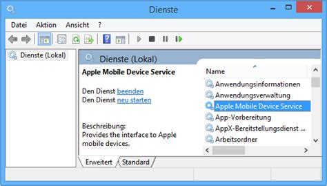 apple mobile device apple mobile device dienst amds unter windows neu