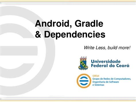 android gradle android gradle dependecies