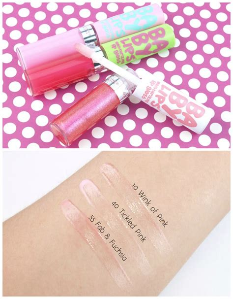 Maybelline Baby Review Harga maybelline baby moisturizing lip gloss review and swatches lip